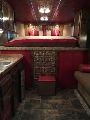 64 Best Horse Trailer Conversion Ideas Images On Couches. Living Quarters  ...